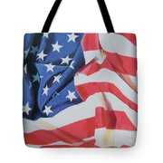 Old Glory Tote Bag