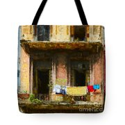 Old Havana Building Tote Bag
