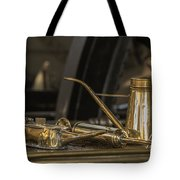 Old Industrial Copper Tools For Maintanance Tote Bag