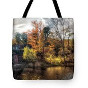 Old Mill Boards Tote Bag
