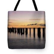 Old Naples Pier Tote Bag