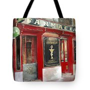Old Pharmacy Tote Bag
