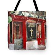 Old Pharmacy Tote Bag