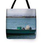 Old San Juan Puerto Rico Local Boats Tote Bag