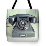 Old Telephone Square Tote Bag