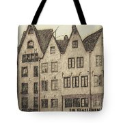 Old Town Of Cologne Tote Bag
