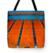 Old Truck Bed Tote Bag