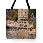 Old Tucson Graveyard Tote Bag