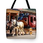 Old Tucson Stagecoach Tote Bag