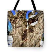 Old Willow Tree Tote Bag