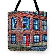 Old World Brooklyn Tote Bag