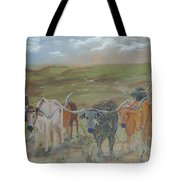 On The Chisholm Trail Tote Bag