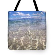 On The Horizon Tote Bag by Debbie Cundy