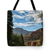 On The Road To Red Rocks  Tote Bag