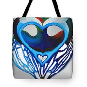 Open Heart Tote Bag