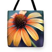 Orange Coneflower Tote Bag