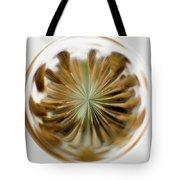 Orb Image Of A Dandelion Tote Bag
