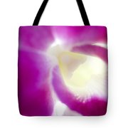 Orchid Abstract Tote Bag