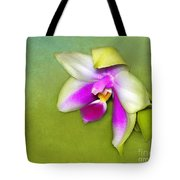 Shy Orchid  Tote Bag