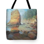 Otter Rock Beach Tote Bag
