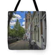 Oude Kerk In Delft Tote Bag