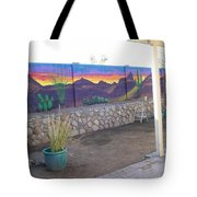 Outside Mural Tote Bag