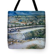 Outskirts Of Paris Tote Bag