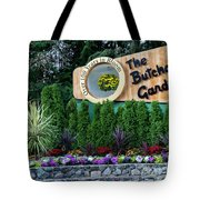 Over 100 Yrs In Bloom, Historic Garden Icon, The Butchart Gardens. Tote Bag