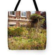 Overgrown Fall Garden Tote Bag