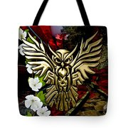 Owl In Flight Collection Tote Bag