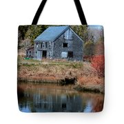 Owls Head Barn Tote Bag