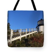 Owls Head Lighthouse Tote Bag