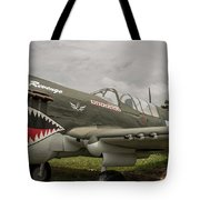 P - 40 Warhawk Tote Bag