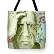 Pablo Piccaso Tote Bag