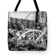 Paddlewheel Riverboat Traveling Down The Ohio River Toward Cinci Tote Bag