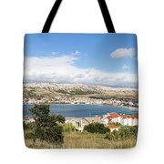 Pag Old Town In Croatia Tote Bag