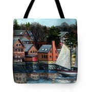 Paint Factory, Gloucester, Ma Tote Bag