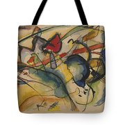 Painting With White Border Tote Bag