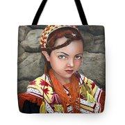 Pakistani Girl Tote Bag