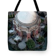 Palace Of Fine Arts Theatre In San Francisco Tote Bag