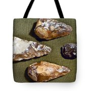Paleolithic Tools Tote Bag