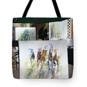 Shadow Dancing Tote Bag