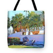 Palm Springs Welcome Tote Bag