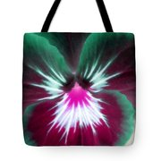 Pansy Power 71 Tote Bag