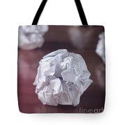 Paper Balls Tote Bag