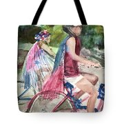 Parade Cyclers Tote Bag