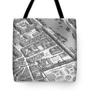 Paris 1730 Tote Bag