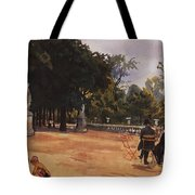 Paris The Luxembourg Park Zinaida Serebryakova Tote Bag