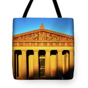 Parthenon In Nashville Tote Bag