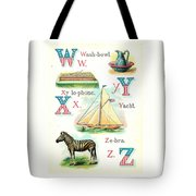 Patriot Abc Book  Page Twelve Tote Bag